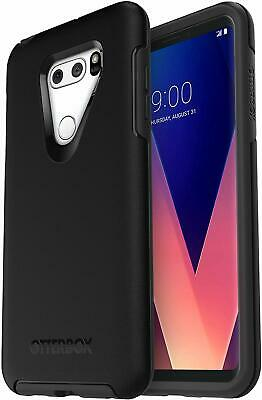 OtterBox Symmetry Protective Case LG V30 / V30 PLUS, Easy-Open Packaging, Black