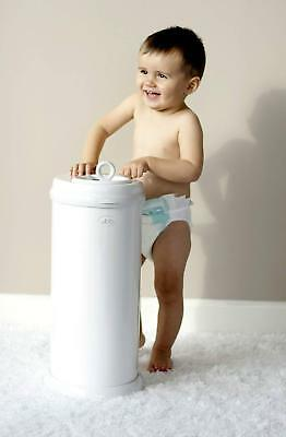 Best Diaper Pail, New Ubbi No Special Bag Required, Steel Odor Locking
