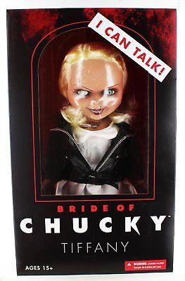 Child's Play - Bride of Chucky - Tiffany - Talking - 15-Inch Doll - Mezco](Talking Chucky)