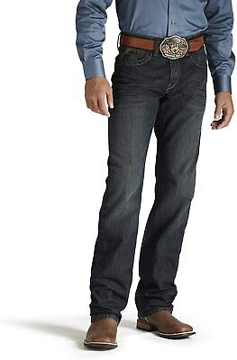ARIAT Men's M2 Relaxed Fit Stackable Bootcut Denim Jean, Dusty Road, 31W x 36L