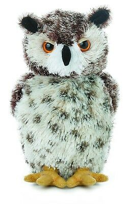 Aurora Osmond Horned Owl Mini Flopsie #30535 Stuffed Animal -
