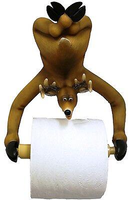 Deer toilet paper holder bathroom cabin log home decor also in bear moose -