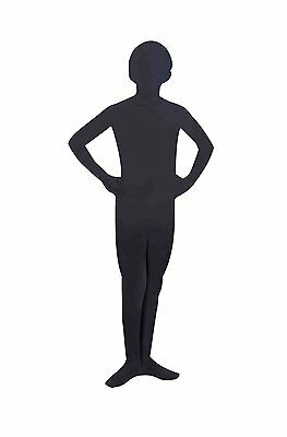 I'm Invisible Black Skin Suit Child Costume - Invisible Costume