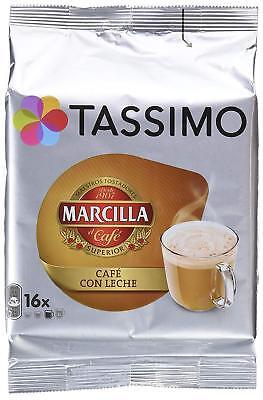 Capsulas Tassimo Marcilla Cafe con leche 80 Bebidas