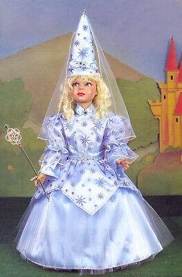 Kostüm Kleid Fasching Karneval Mädchen Pegasus Elfen Königin 3/5 Jahre