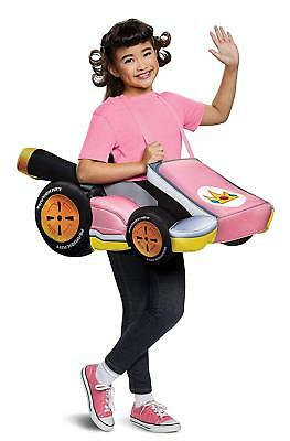 Princess Peach Mario Kart Nintendo Fancy Dress Up Halloween Child Costume (Princess Peach Child Costume)