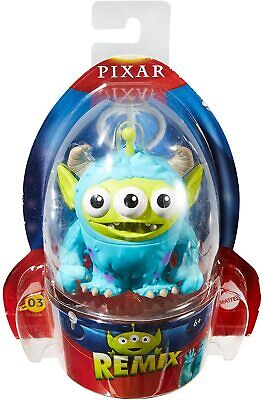 "DISNEY PIXAR REMIX TOY STORY ALIEN AS *SULLEY MONSTERS INC* 3"" FIGURE #03 NEW"