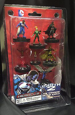 DC HeroClix - Superman/Wonder Woman - Earth 2 Fast Forces - 6 Pack