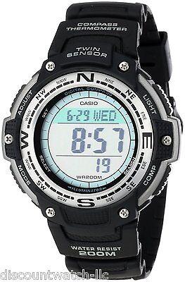 Casio SGW100-1V Mens Twin Sensor Digital Compass Multi-Task Gear Sports Watch