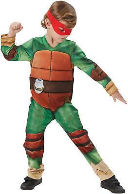 Turtles TMNT mit Muskeln Deluxe Kinder Karneval Fasching Kostüm 104-128
