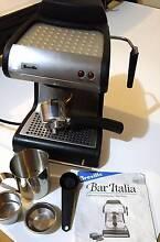 Breville Bar Italia, Espresso/Cappuccino Machine Excellent Con. Adelaide CBD Adelaide City Preview