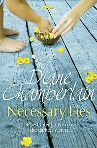 NECESSARY-LIES-by-Diane-Chamberlain-WH3-PB-NEW-BOOK