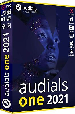Audials One 2021 Download EAN 4023126122421 Originale Lizenz von Avanquest !