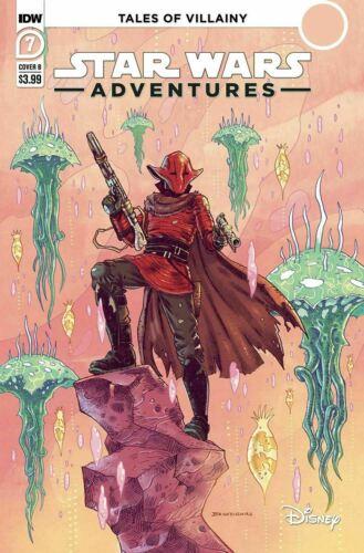 Star Wars Adventures #7 B Cover Variant IDW Comics 2021 Crimson Corsair