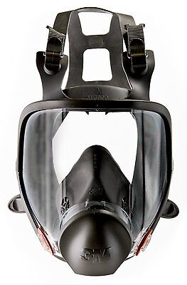 3M 6800 Full Facepiece Reusable Respirator, Respirator Protection MEDIUM Business & Industrial