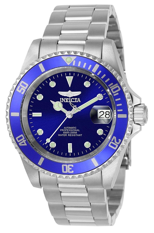 Invicta Men's 9094OB Pro Diver blaue Herrenarmbanduhr Automatik NEU + OVP