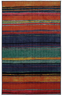 Mohawk Rainbow 7 6  X 10 Large Area Rug