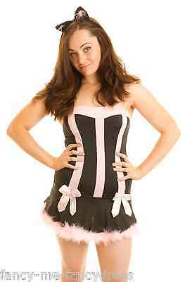 Ladies Sexy Cat Sex Kitten Halloween Christmas Fancy Dress Party Costume Outfit ()