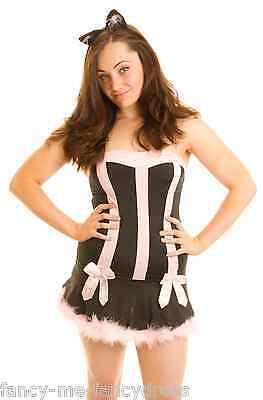 Damen Sexy Cat Sex Kätzchen Halloween Weihnachten Party Kostüm (Cat Weihnachten Kostüme)