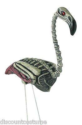 ZOMBIE SKELETON FLAMINGO CREEPY LAWN DECORATIVE ORNAMENT HALLOWEEN DECORATION](Zombie Flamingo)