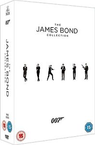 JAMES BOND 007 Complete 23 Movie Collection 1962-2012 Boxset NEW DVD R4