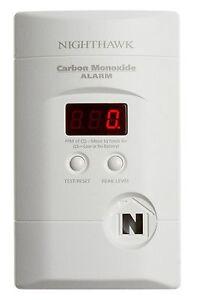 Kidde KN-COPP-3 Nighthawk Plug-In Carbon Monoxide Alarm with Battery Backup