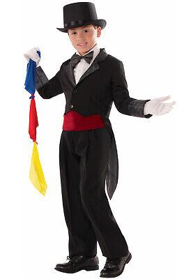 Brand New Magic Tricks Magician Tailcoat Child Costume - Tailcoat Costume