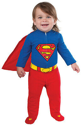 Brand New Superhero Superman Baby Boy Infant Costume](Superhero Infant Costume)
