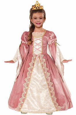 Brand New Victorian Rose Renaissance Child Costume (Large) - Kids Victorian Costumes
