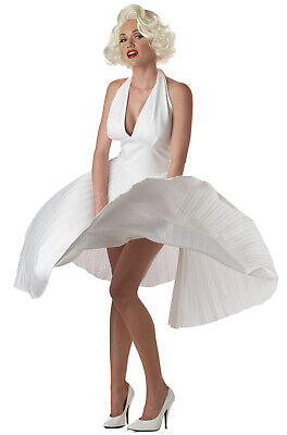 Marilyn Monroe Halloween Costumes (Brand New Sexy Marilyn Monroe Deluxe Movie Star Official Adult Halloween)