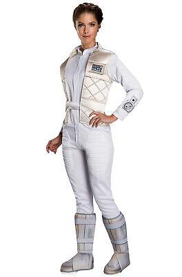 Brand New Star Wars Hoth Princess Leia Adult Costume