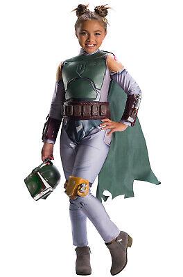 Brand New Star Wars Boba Fett Girl Child Costume