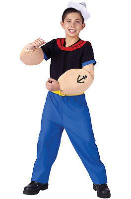 Popeye The Sailor Child Halloween Costume