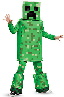 Minecraft Creeper Prestige Child Costume - Kids Creeper Costume