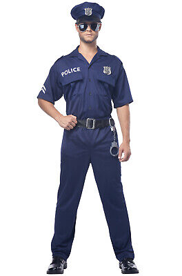 Brand New Police Officer Cop Uniform Adult Halloween - Police Officer Uniform Kostüm