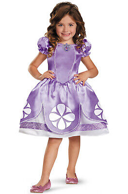 Disney Sofia The First Halloween Costume (Brand New Disney Sofia the First Sofia Classic Toddler Halloween)