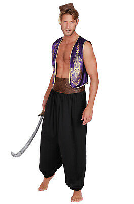 Brand New Arabian Prince Aladdin Adult Costume