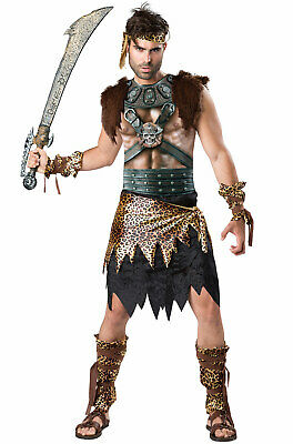 Brand New Barbarian Roman Gladiator Spartan Warrior Adult Costume - Roman Warrior Costumes