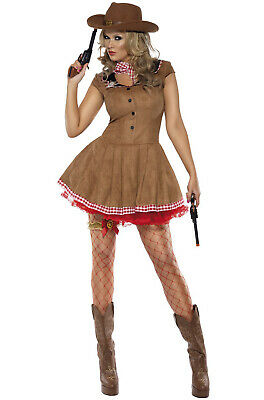 Fever Wild West Cowgirl Adult Costume (Cowgirl Adult Costumes)