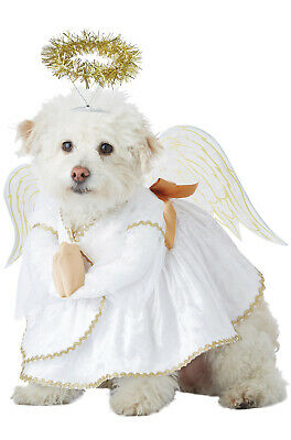 Brand New Heavenly Hound Christmas Angel Pet Dog Costume - Costume For Pets