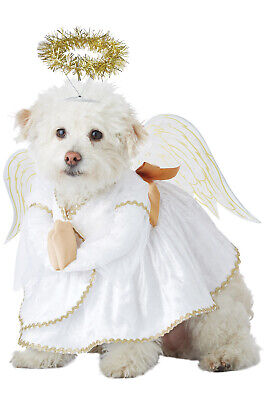 Brand New Heavenly Hound Christmas Angel Pet Dog Costume - Christmas Costumes Dogs