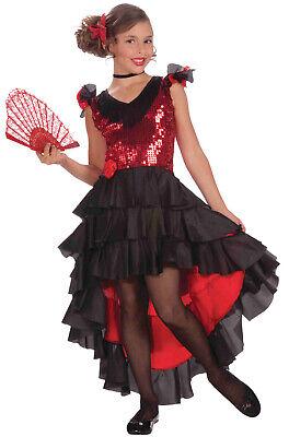 Spanish Dancer Girls Child Costume (Medium)