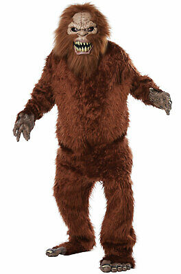 Monster Adult Costumes (Brand New Sasquatch Big Foot Monster Adult)