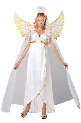 Brand New Religious Biblical Guardian Angel Adult - Guardian Angel Kostüm