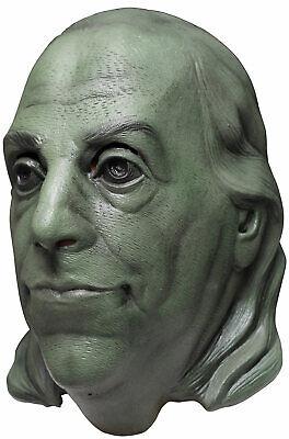 Benjamin Franklin Mask (Benjamin Franklin Political Adult Full)