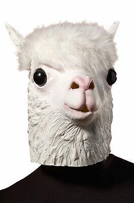 Brand New Llama Latex Funny - Llama Halloween Mask