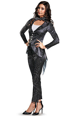 Jack Skellington Female Costume (The Nightmare Before Christmas Jack Skellington Female Deluxe Adult)
