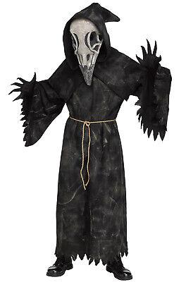 Brand New Raven Reaper Grim Reaper Scary Adult Costume](Make Grim Reaper Halloween Costume)