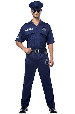 Police Officer Cop Plus Size - Plus Size Officer Kostüm