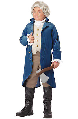 Presidents George Washington Thomas Jefferson Child Costume